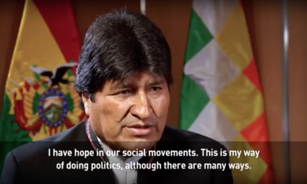 Interview With Bolivian President Evo Morales