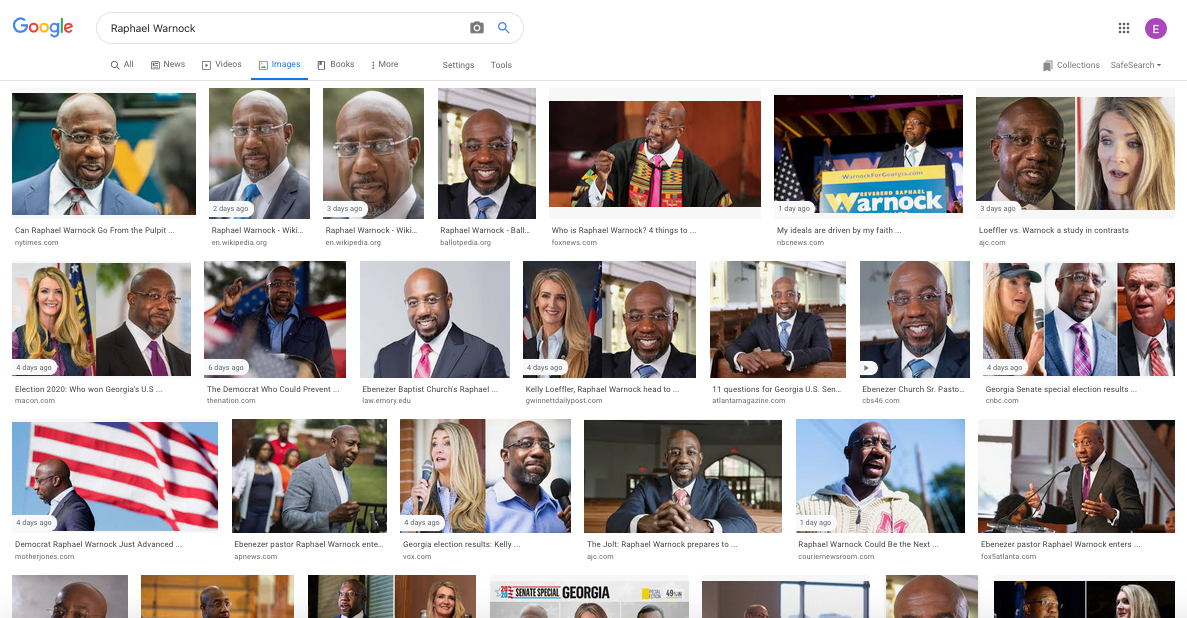 Raphael Warnock Images Search Results